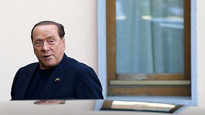 Silvio Berlusconi commence ses travaux d'intérêt général