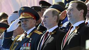 world Dzień Zwycięstwa: Władimir Putin w Moskwie, a następnie na Krymie