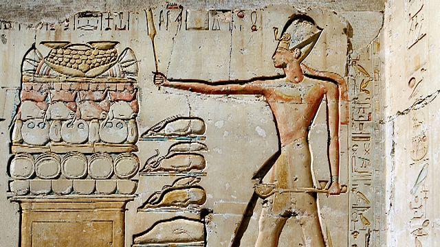 Unalmasan étkeztek az ókori egyiptomiak
