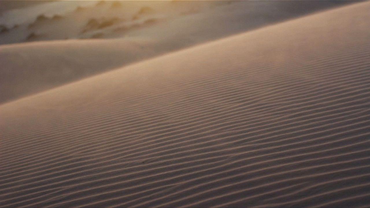 Wüstenstaub, das Körnchen im Solarstrom-Getriebe