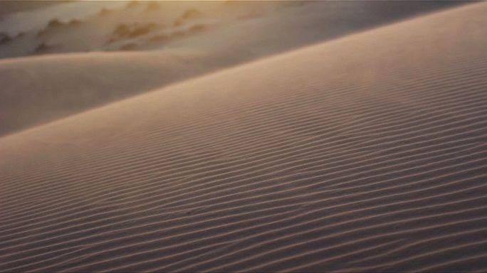 Tempête du désert contre énergie solaire