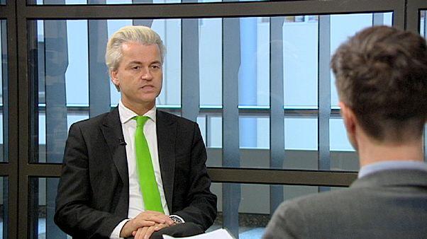 Ο Χέερτ Βίλντερς στο euronews - Το ολλανδικό ακροδεξιό κόμμα σε άνοδο