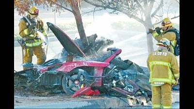 Porsche is sued by driver's widow in Paul Walker crash