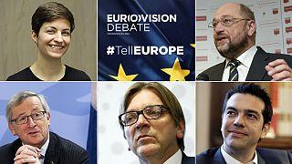 Les candidats pour la présidence de la Commission s'affrontent lors du dernier débat électoral