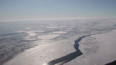 Fusione di ghiacci antartici