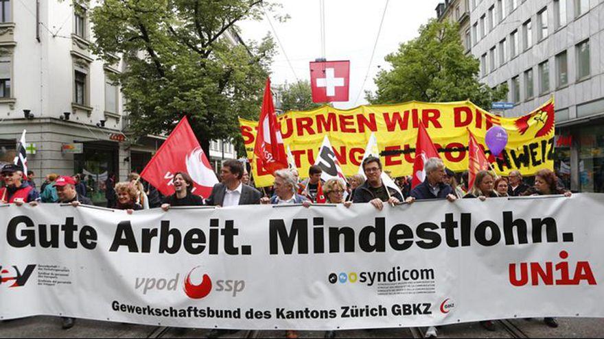 Swiss set to vote on world's highest minimum wage