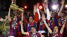 Bayern claim German double after beating Dortmund in the cup final
