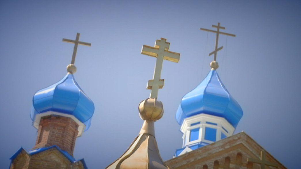 Kirchen und Glauben wiederauferstanden in Bijsk