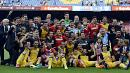 Atletico Madrid enjoy La Liga success as Man City celebrate second title in three years