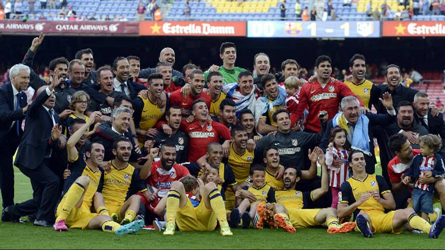 Atletico Madrid enjoy La Liga success as Man City celebrate second title in three years