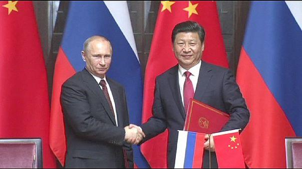 Vladimir Putin visita a su homólogo Xi Jinping en Shanghai, en un viaje que escenifica el acercamiento estratégico entre Rusia y China.