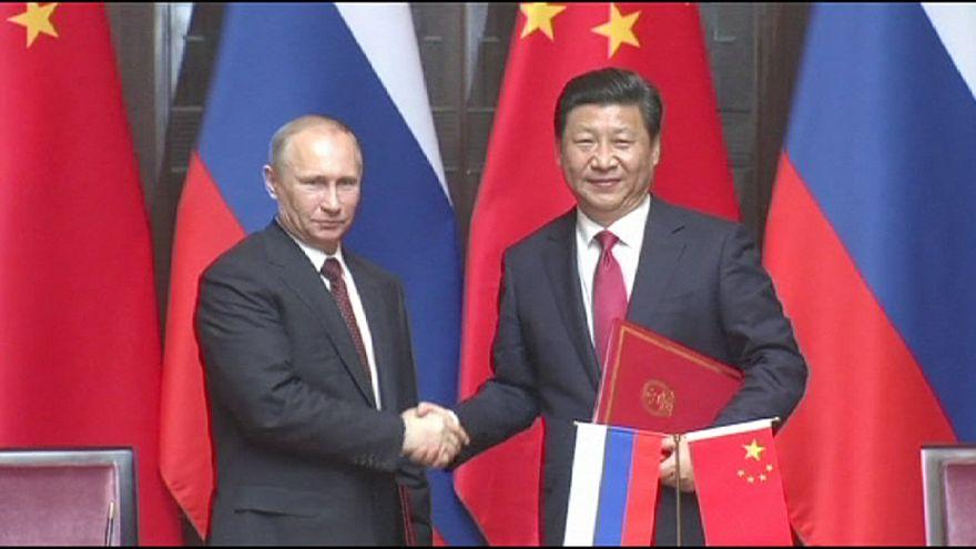 Gás natural aproxima Rússia e China