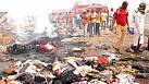 More than 100 die in two massive bomb blasts in central Nigeria