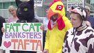 Arlington: Protest vor Verhandlungen zum transatlantischen Freihandelsabkommen