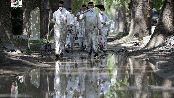 Les Balkans solidaires face aux inondations