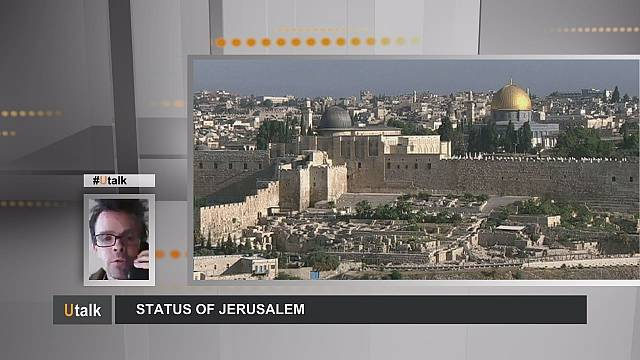 What is the legal status of the city of Jerusalem?