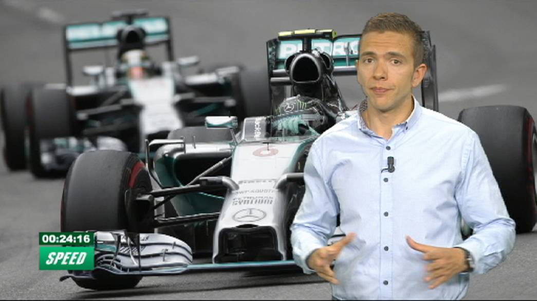 'Speed': Rosberg triunfa en una accidentada carrera