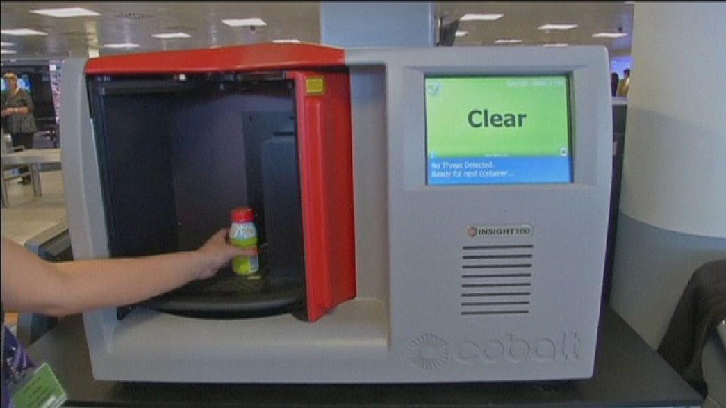 Сканнер для проверки жидкостей и гелей в багаже