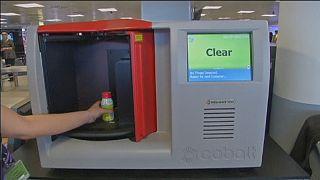 Scanner de líquidos em testes em 65 aeroportos