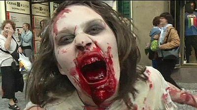 Zombie apocalypse comes to Prague – nocomment