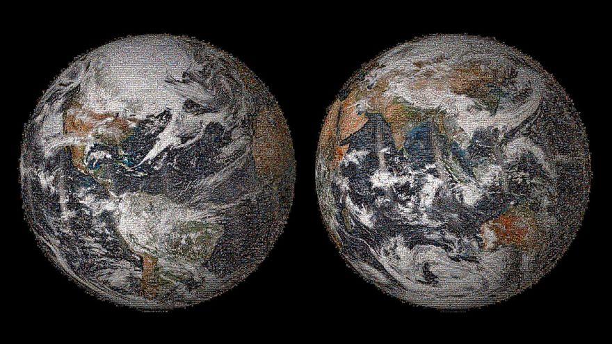 """""""Globales Selfie"""" -  die Erde in 36.422 Selbstporträts"""