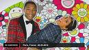 Pharrell Williams weiht Ausstellung in Paris ein