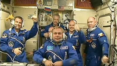 US-Russia partnership 'out of this world' as new ISS crew arrives