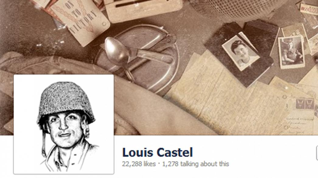 D-Day, now on Facebook, fear and courage