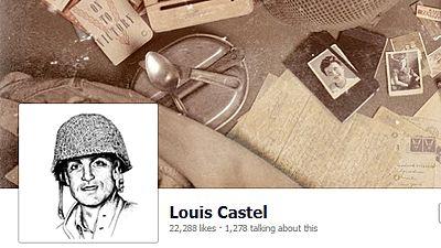 Louis Castel - Virtuelle Eindrücke aus dem zweiten Weltkrieg auf Facebook