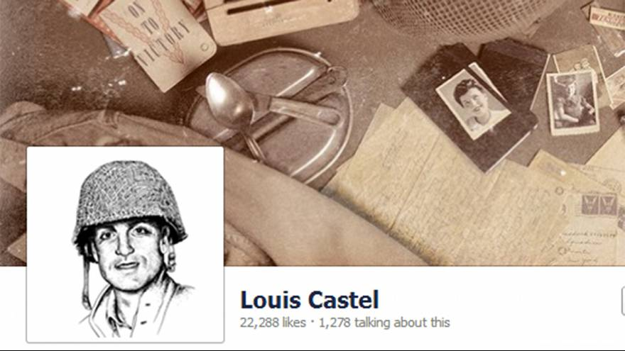 Louis Castel, el GI francés que va a tuitear el Desembarco