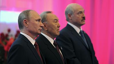 Russia forms 'epoch-making' trading bloc with Belarus and Kazakhstan