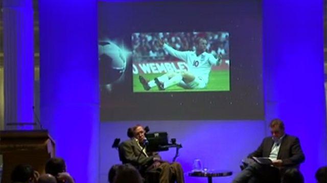 Hawking'den İngiltere'ye Dünya Kupası tüyosu
