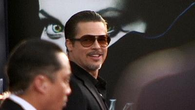 Man held after 'prankster' assault on Brad Pitt