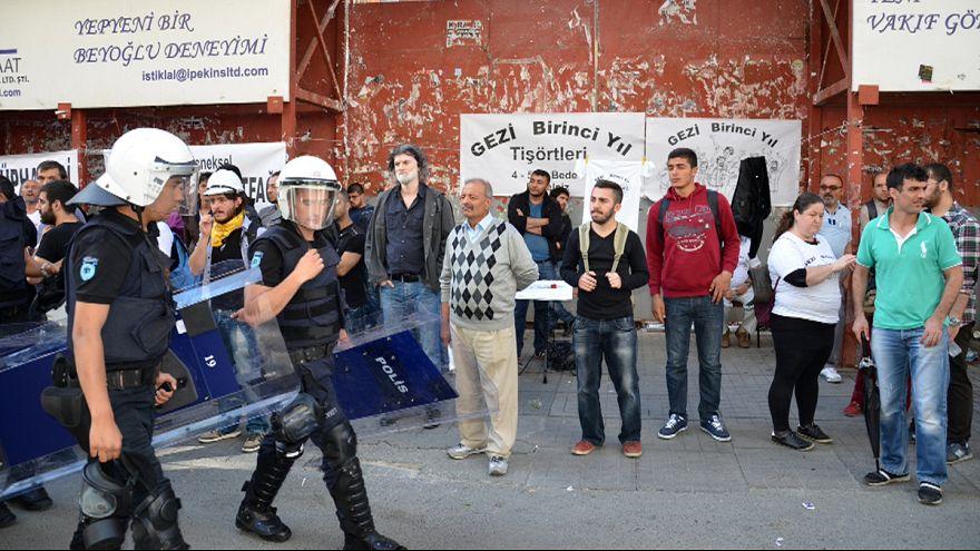 Yıldönümünde Gezi Parkı arındırılmış güvenlik bölgesi ilan edildi