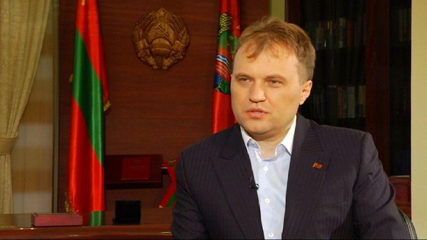 """Líder da região separatista da Transnístria quer negociar """"divórcio civilizado"""" da Moldávia"""
