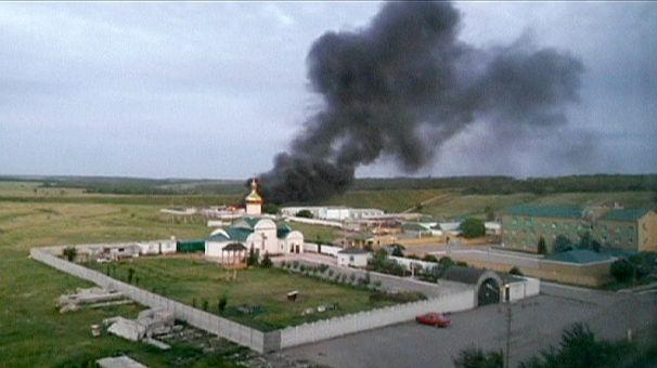 Five dead in assault on command centre in Luhansk in eastern Ukraine