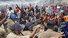 India: police clash with protesters rallying over violence against women