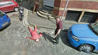 Google cameras stumble on 'murder' scene