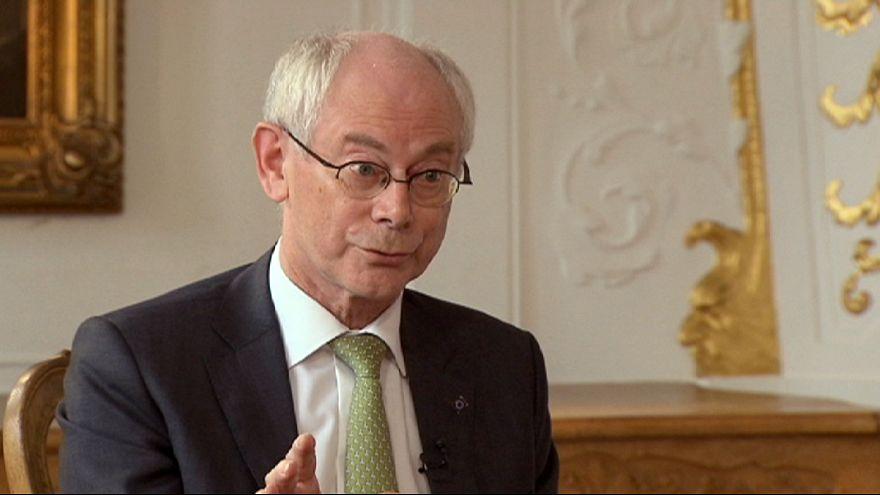 """Van Rompuy: Hay que evitar un """"enfrentamiento"""" entre el Consejo y el Parlamento Europeo"""