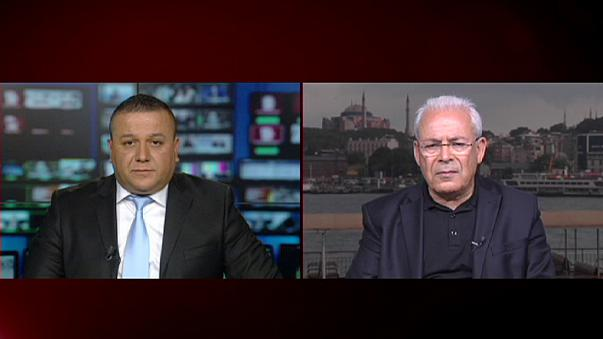 """برهان غليون ليورونيوز"""": نظام الملالي يريد بقاء الأسد في السلطة """""""