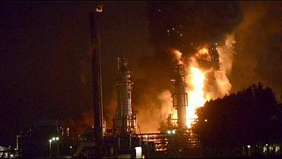 Fire at Dutch chemical plant injures two
