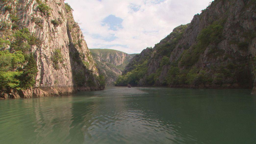 روعة الطبيعة المقدونية