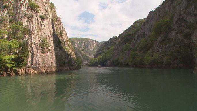 Idyllic scenes on the Macedonian nature trail