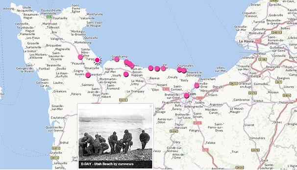 La Normandie du Débarquement en images
