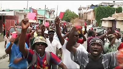 Haiti: Anti-government protesters call for President Martelly to quit