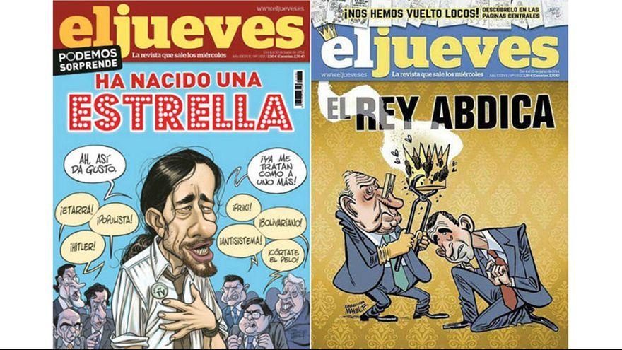 La revista El Jueves malherida tras la retirada de una portada contra el rey Juan Carlos