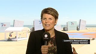 To euronews στη Νορμανδία