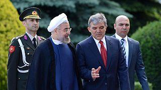 İran Cumhurbaşkanı Ruhani Ankara'da