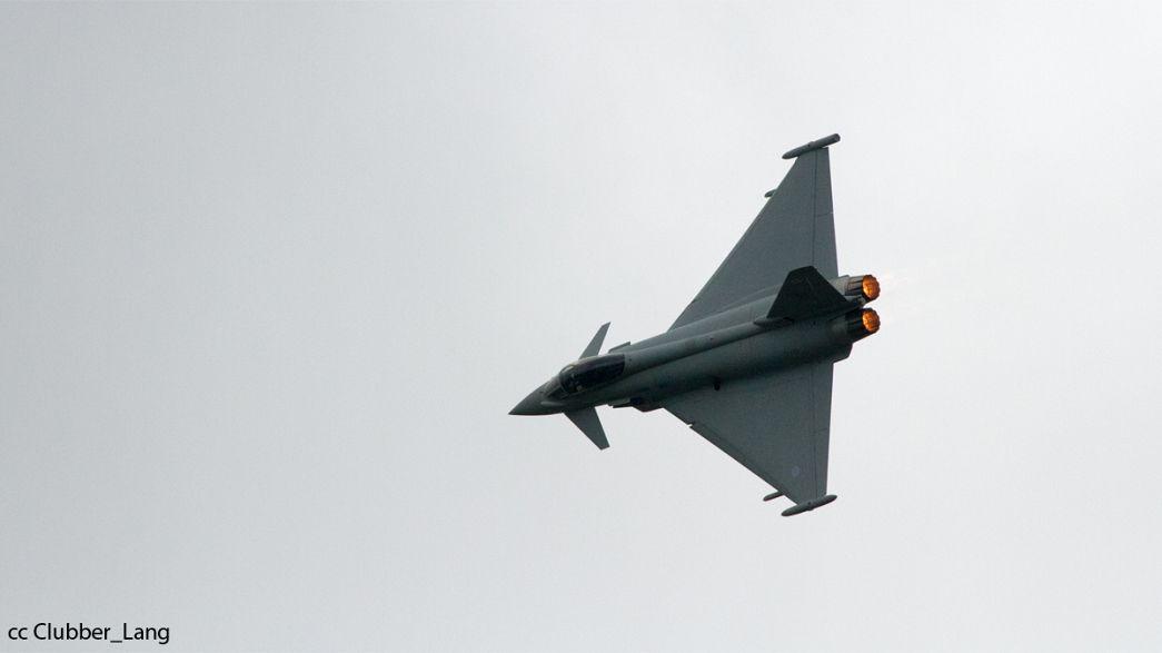 Eurofighter jet crashes at Spanish base