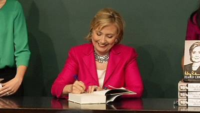 Hillary Clinton book blitz boosts talk of possible 2016 White House run